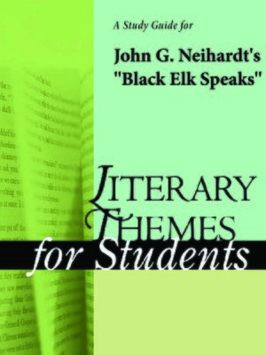 an analysis of black elk speaks a book by john g neihardt If you are looking for a book black elk speaks: the complete edition by john g neihardt in pdf format, then you've come to the faithful website.